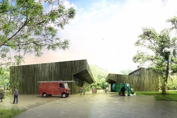 Genthod, Genève, Concours 2e prix / Competition 2nd prize, Burrus Nussbaumer Architectes