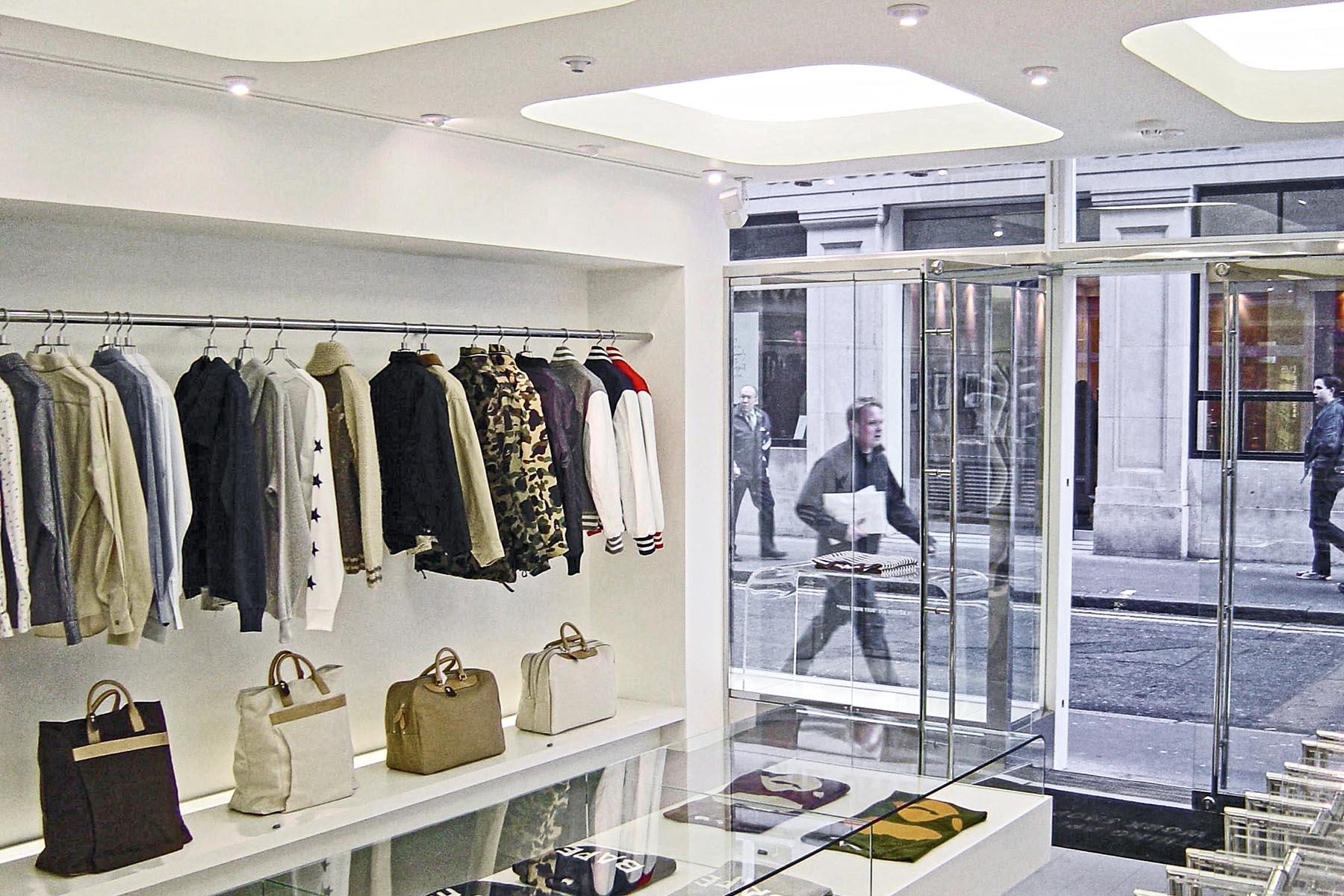 Londres / London, Aménagement de magasin / Shop fitout, Burrus Nussbaumer Architectes
