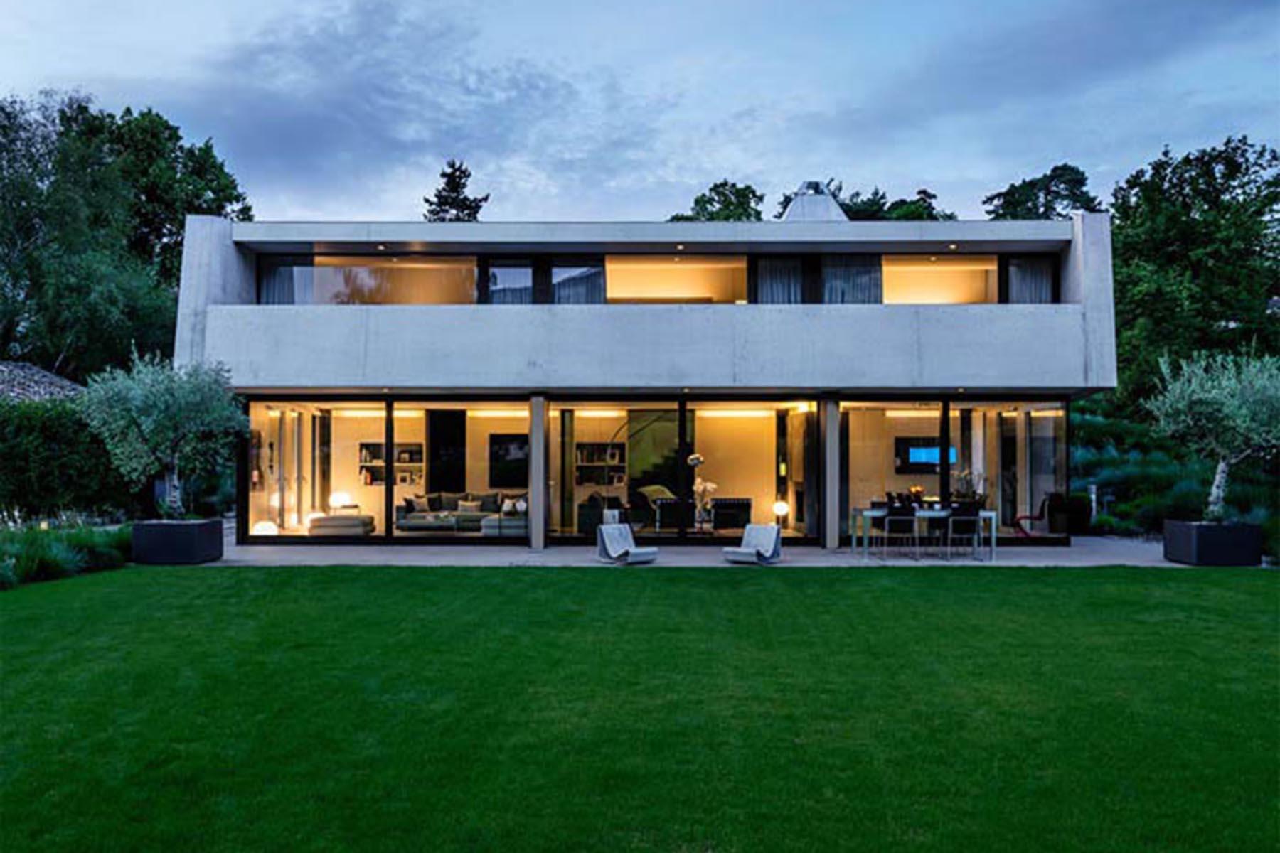 Thônex, Genève / Geneva, Nouvelle maison / New private house, Burrus Nussbaumer Architectes