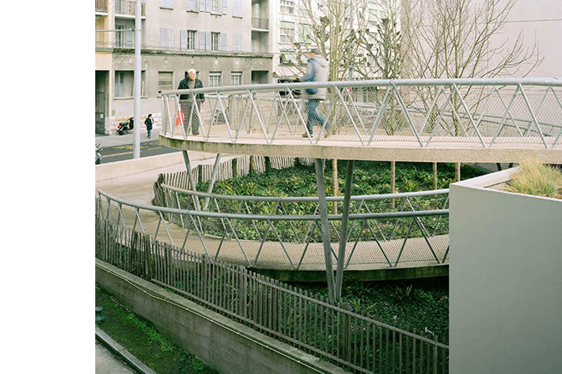 place du Vélodrome, Genève / Geneva, Aménagements urbains / Urban refurbishment, Burrus Nussbaumer Architectes