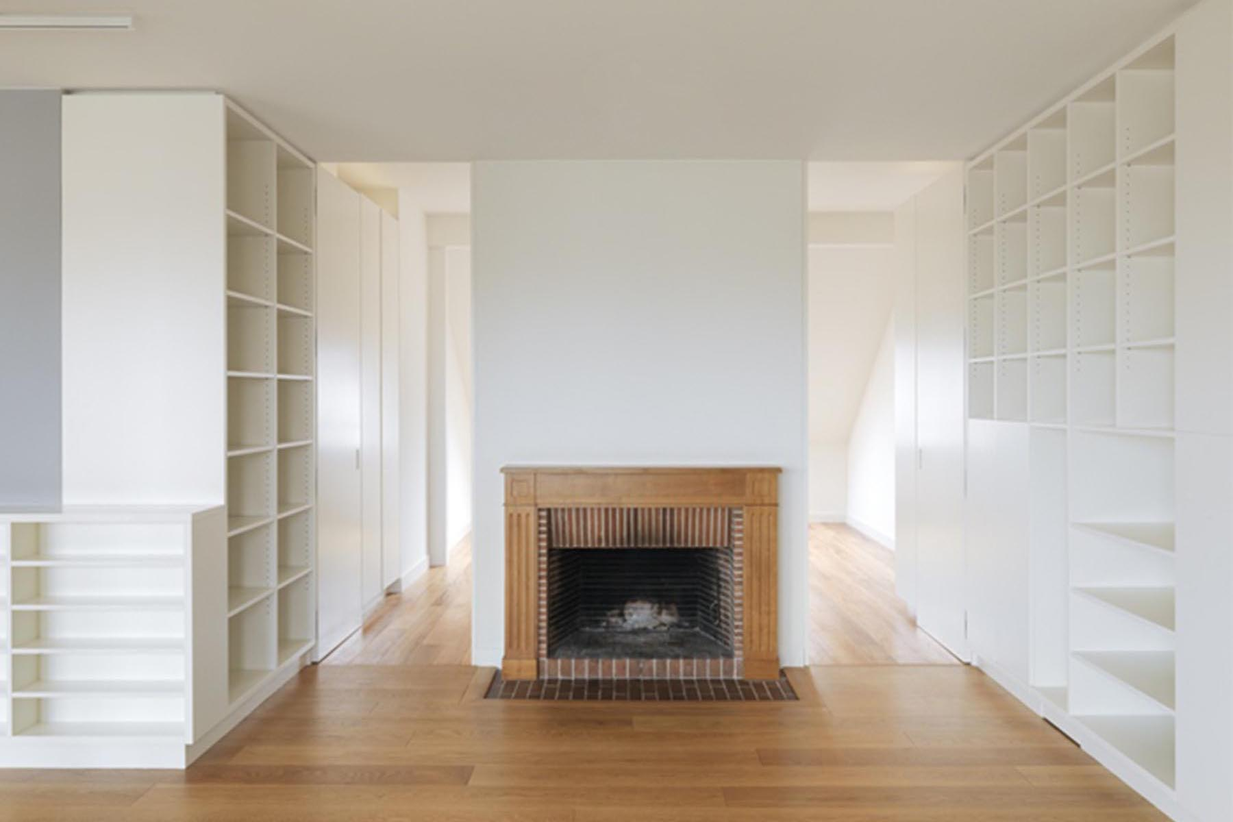 Genève / Geneva, Transformation d'appartement / Flat refurbishment, Burrus Nussbaumer Architectes