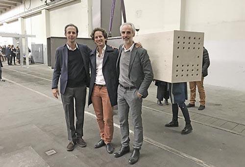 Case Study Steel House Vernissage / Opening Alexis Burrus, Francesco Snozzi (Ingeni), Raphaël Nussbaumer