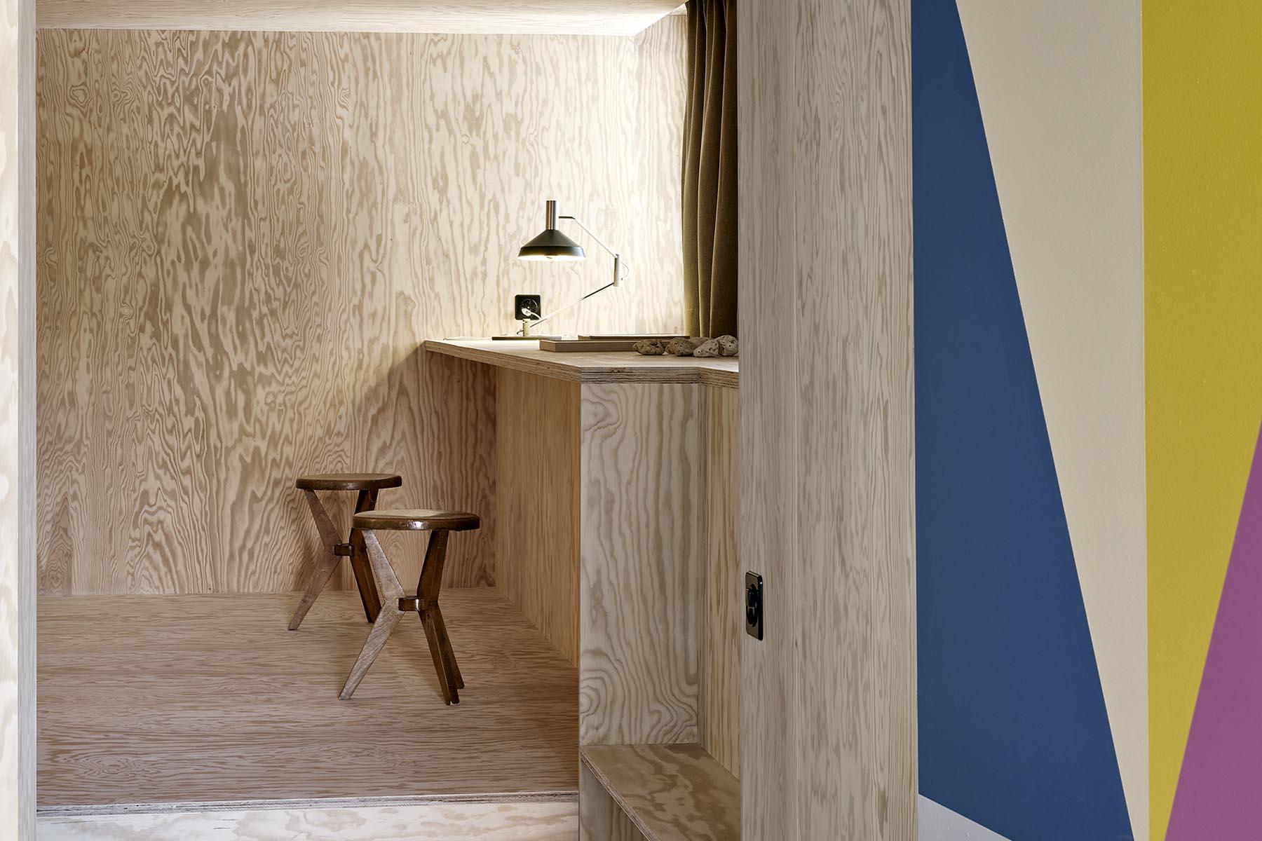 Lausanne, Aménagement de studio d'artiste / Artist's studio fit out, Burrus Nussbaumer Architectes
