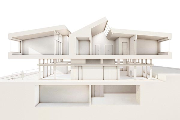 Burrus Nussbaumer Architectes, Concours à Bellevue (GE) / Competition in Bellevue (GE)